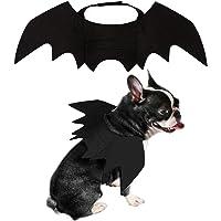 PEDOMUS Cat Costume Pet Bat Wings Cat Bat Costume Halloween Costume Pet Apparel for Cats