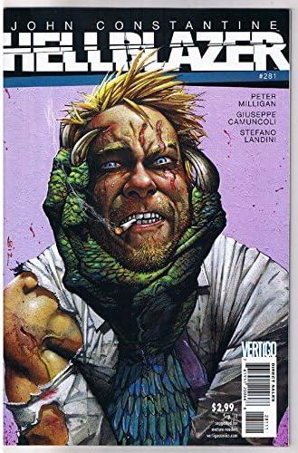 CAMUNCOLI DC VERTIGO HELLBLAZER Vol 1 issue 272 by PETER MILLIGAN,SIMON BISLEY