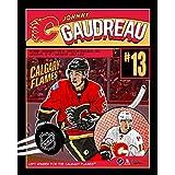 Frameworth Johnny Gaudreau NHL Comic Plaque