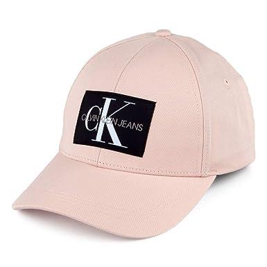 Calvin Klein Gorra de béisbol Monogram Rosa Claro - Ajustable: Amazon.es: Ropa y accesorios
