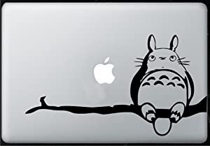 Totoro Branch - Sticker Decal MacBook, Air, Pro All Models.
