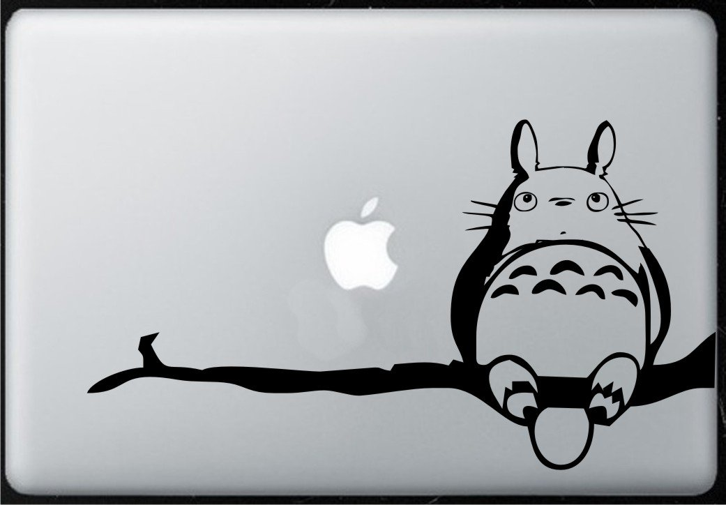 شعبه Totoro - استیکر Decal Macbook ، Air ، Pro همه مدل ها.