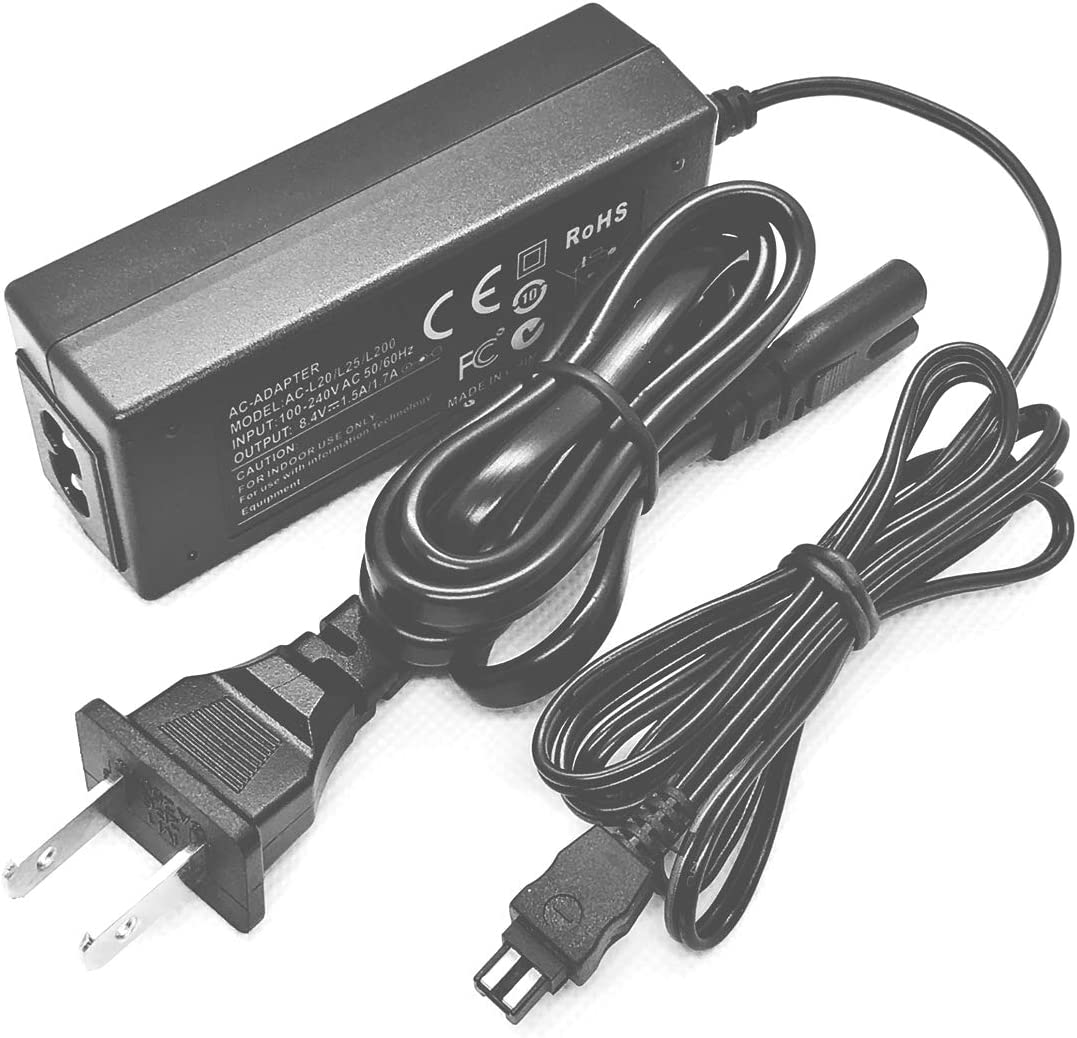 HXR-MC50N PXW-Z90V Camcorder HXR-MC50P HXR-MC50U PXW-Z90 PXW-X70 AC Power Adapter Charger for Sony HXR-MC50 HXR-MC50E