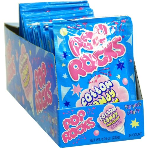 Pop Rocks Cotton Candy (Pack of 24) ()