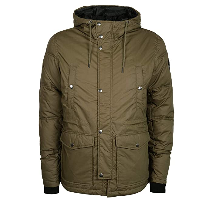 Diesel W-Unresty Chaqueta Verde 51F Hombre: Diesel: Amazon ...