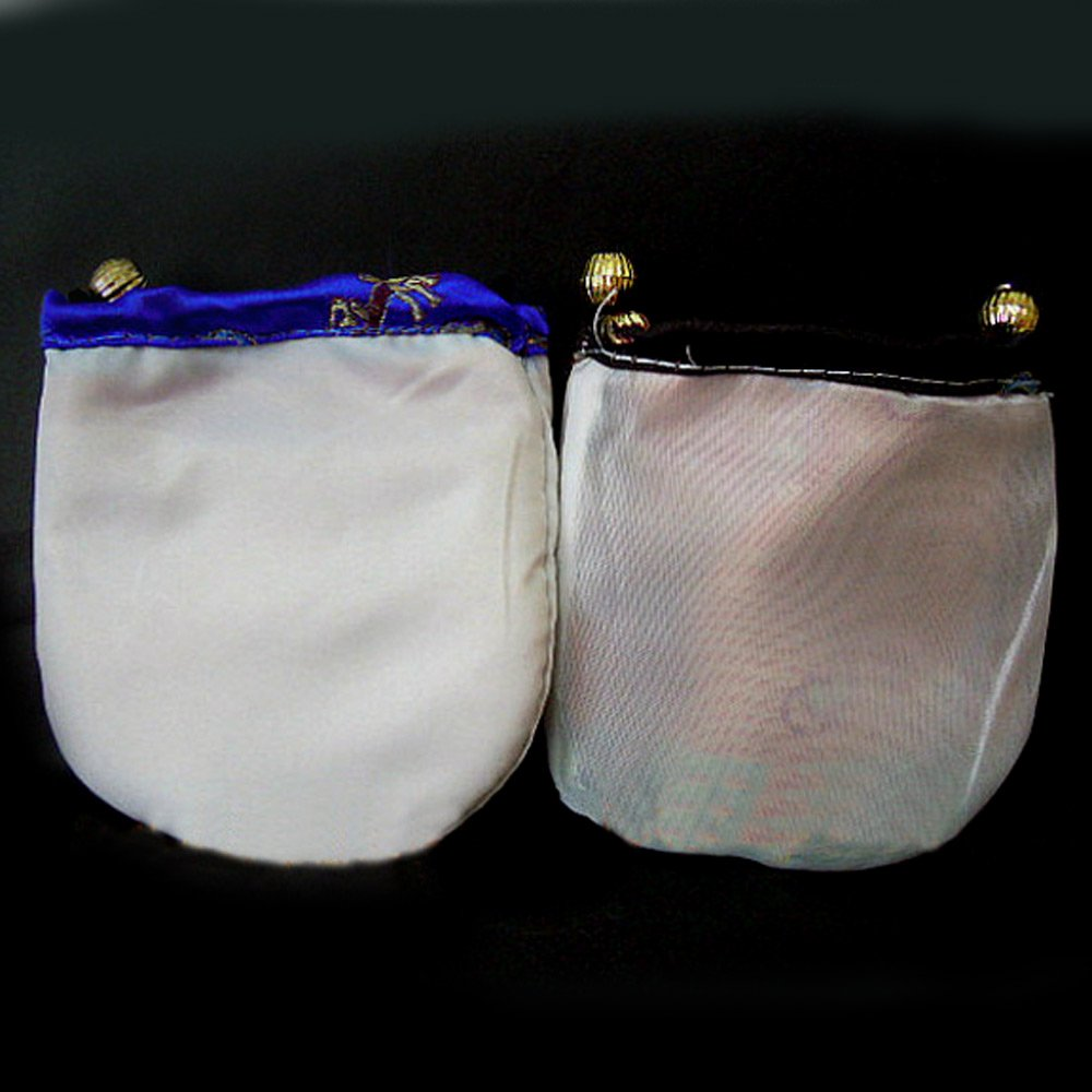 Mixed Silk Purse Drawstring Bag Gift Bags Jewelry Pouch Packing 4''x4'' send by random wholesale 50 Pcs by SR BGSJ (Image #3)