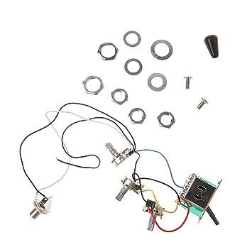 ST E-Gitarre Circuit Verkabelung 5 Wege Schalter 2 V1t1j A500 K B500 ...