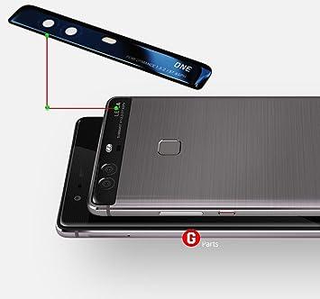 o.e.m. para lentes de cámara & Cristal Protectora de flash (superior) Negro para Huawei P9 Plus –