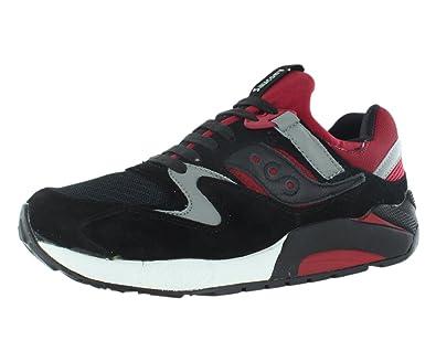 Saucony Grid 9000 Shoes Black Red UK 11  Amazon.co.uk  Shoes   Bags d7b87ead9a83