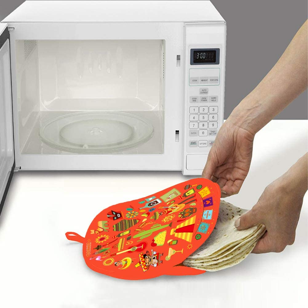 Amazon.com: DOKKIA Calentador de tortilla 12 pulgadas bolsa ...