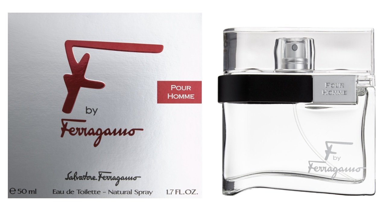 Salvatore Ferragamo F Pour Homme Black Eau De Toilette Spray – 100ml 3.4oz