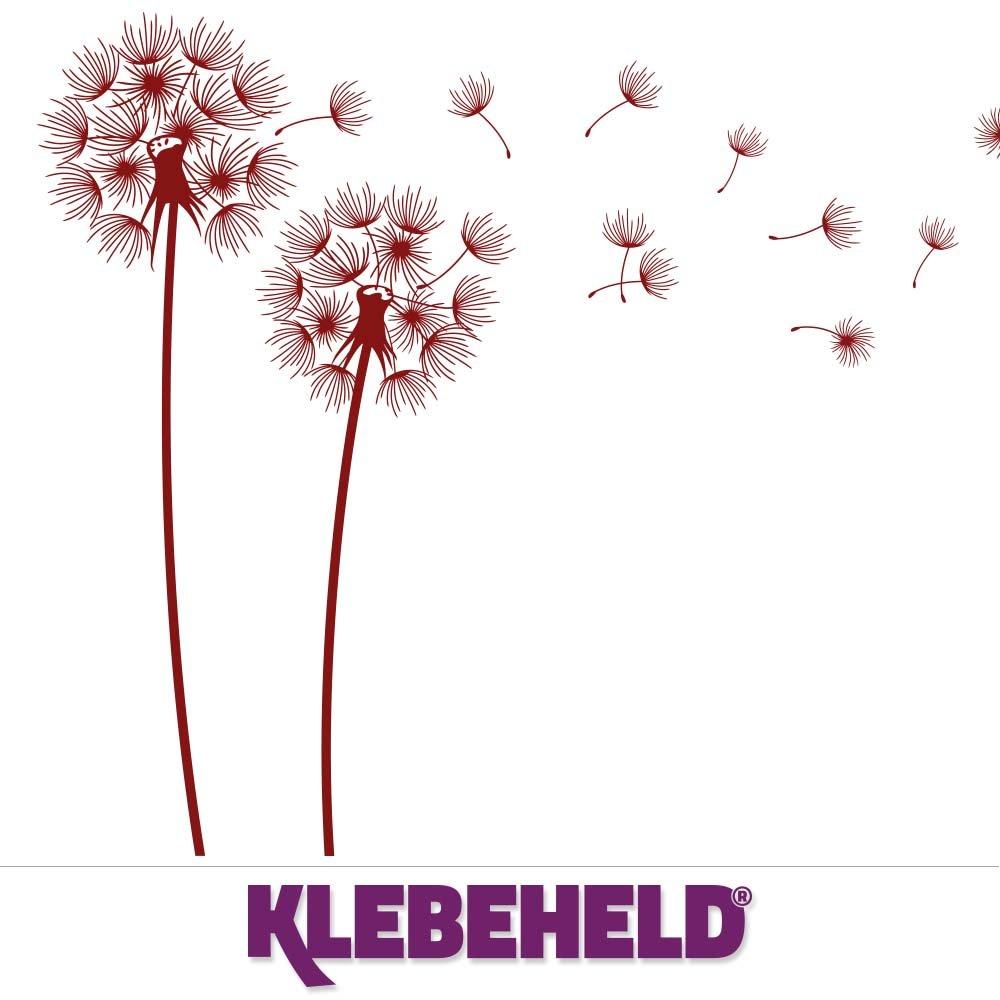 KLEBEHELD® Wandtattoo PusteBlaumen im Wind Größe 160cm, Farbe Farbe Farbe weiss B01M0H5EX8 Wandtattoos & Wandbilder 396645