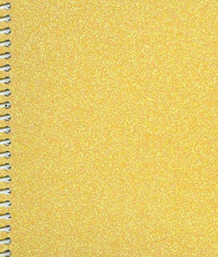 Sticker Collecting Album 5x7 Sunshine Yellow Sparkle Glitter, Re-usable
