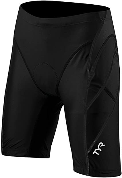 """TYR Competitor 9/"""" Men/'s Short Black MD"""