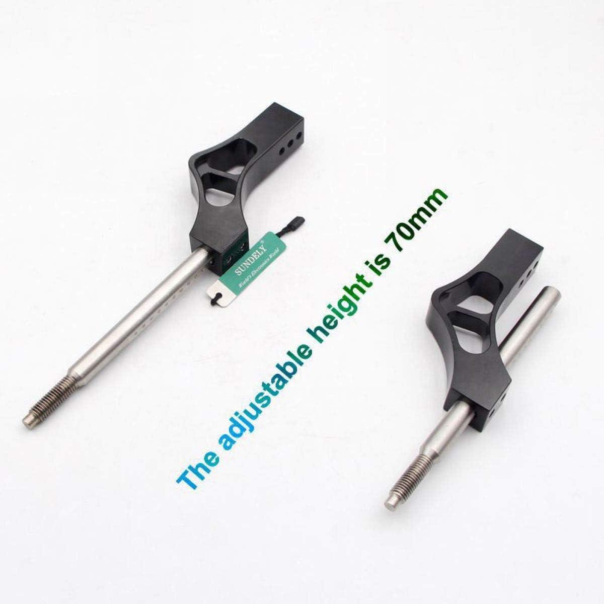 SUNDELY/® Black Shift Knob Shifter Extension Extender Lever Gear for Stick Manual