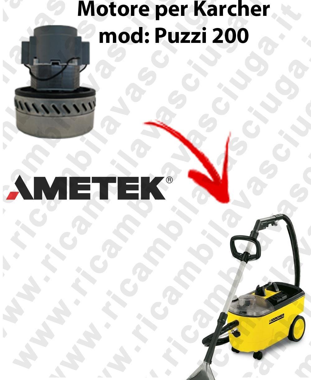 Karcher Puzzi 200 Suction Ametek Motor for Vacuum Cleaner