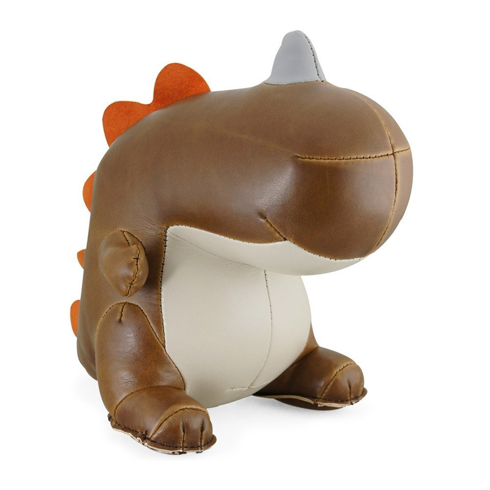 Zuny Dinosaur (Bobo II) Animal Bookend - Brown