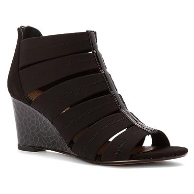 Donald J Pliner Womens Jada Open Toe Casual Platform Sandals Black Size 60