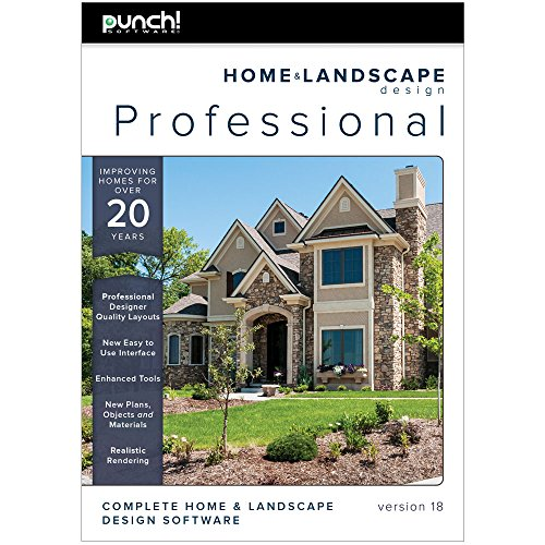 Punch home landscape design professional v18 download for Landscape design computer programs