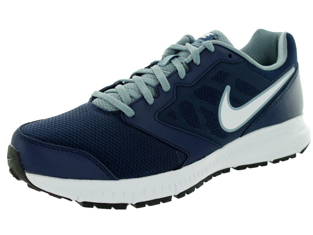 85c70d315cb Galleon - Nike Men s Downshifter 6 Midnight Navy White Mgnt Grey Running  Shoe 12 Men US