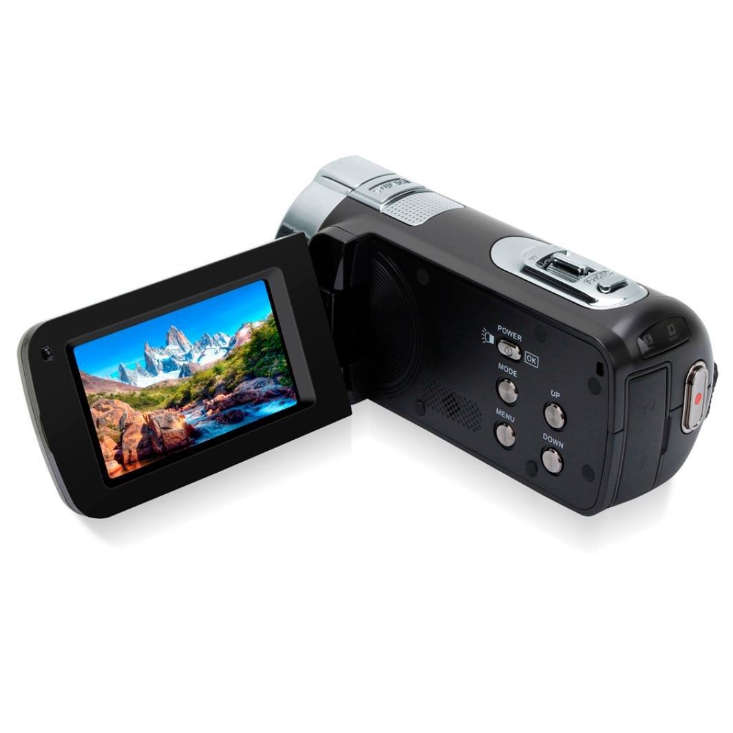 Wokee Zoll Camcorder,2,7 Zoll Wokee HDV-312P Digital Videokamera Camcorder DV rotierenden LCD-Bildschirm Ultra HD Wifi Digitale Videokamera Nachtsicht-Camcorder mit Mikrofon (C) b04b6e