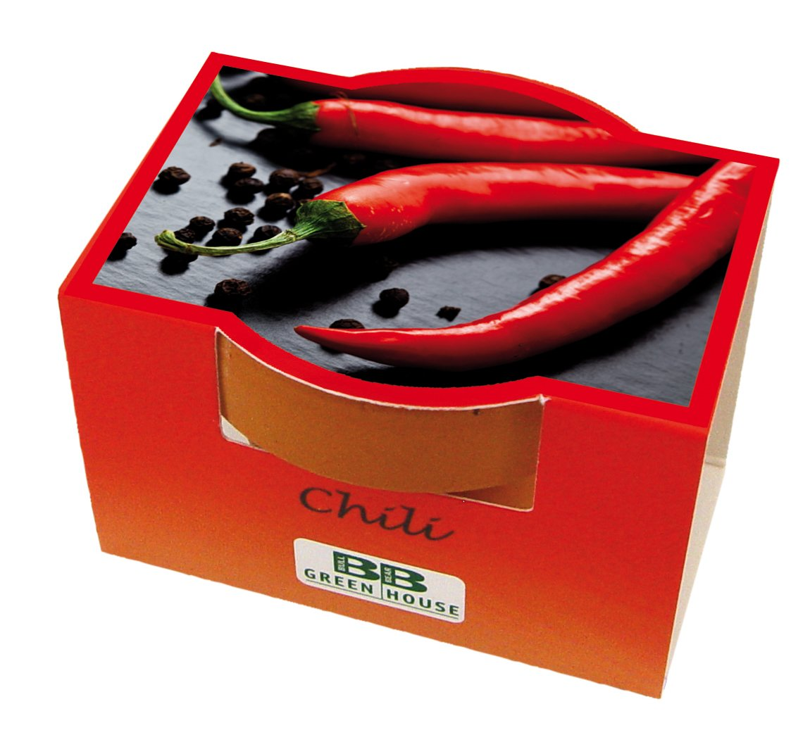 Minipflanzset Chili Bull + Bear