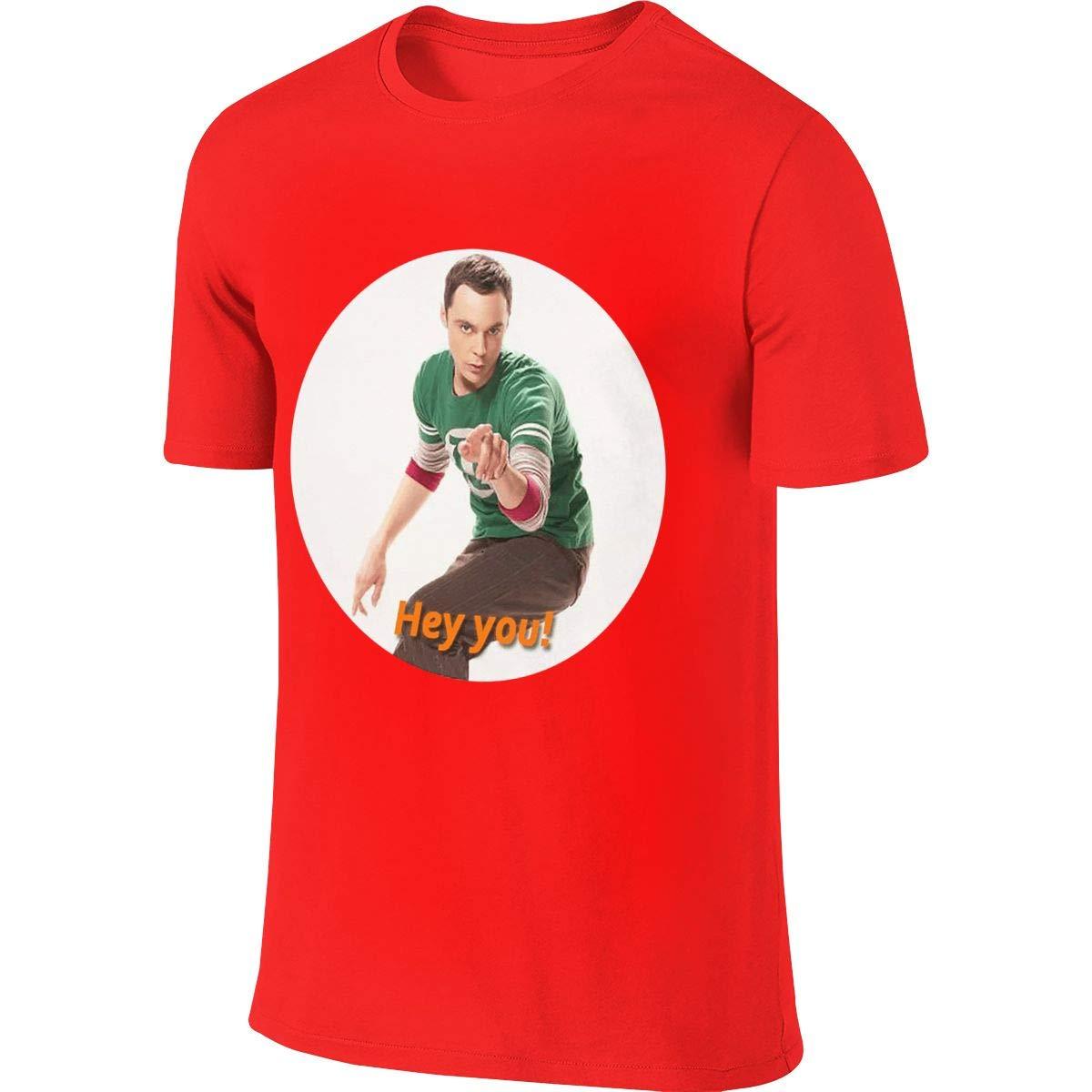 Revess Design Novelty Tees The Big Bang Theory Sheldon Cooper T Shirt