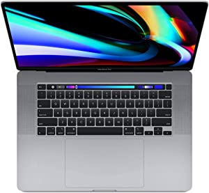 "Apple BTO 16"" MacBook Pro with Touch Bar, 9th-Gen 8-Core Intel i9 2.4GHz, 64GB RAM, 1TB SSD, AMD Radeon Pro 5600M 8GB, Space Gray, Late 2019"