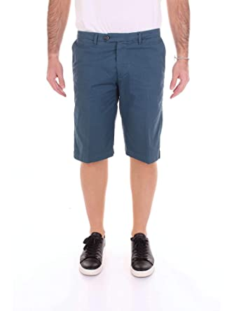 first rate ffc8b e5575 CRUCIANI Men's Cu9503blue Blue Cotton Shorts at Amazon Men's ...