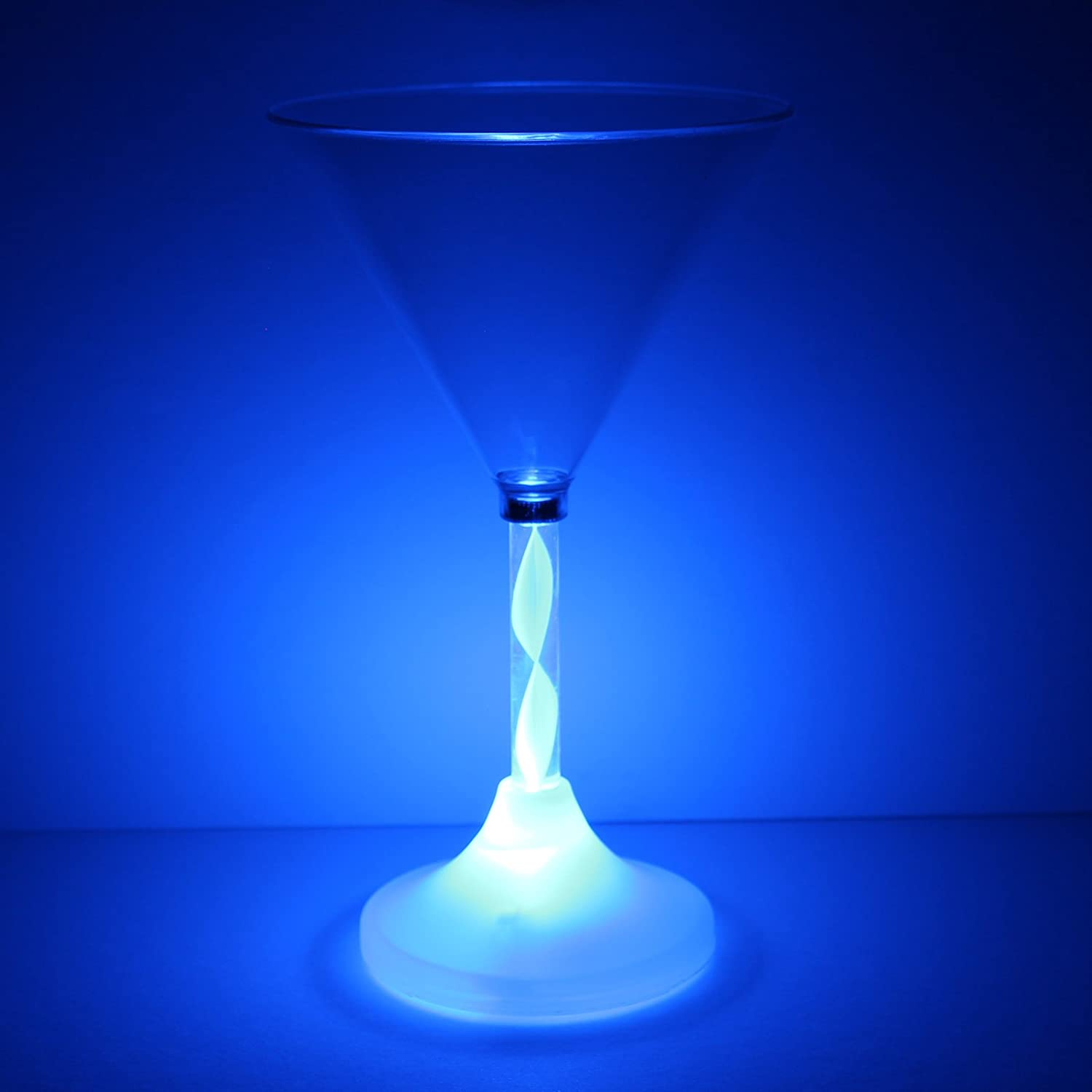 Light Up Martini Glass The Glow Company