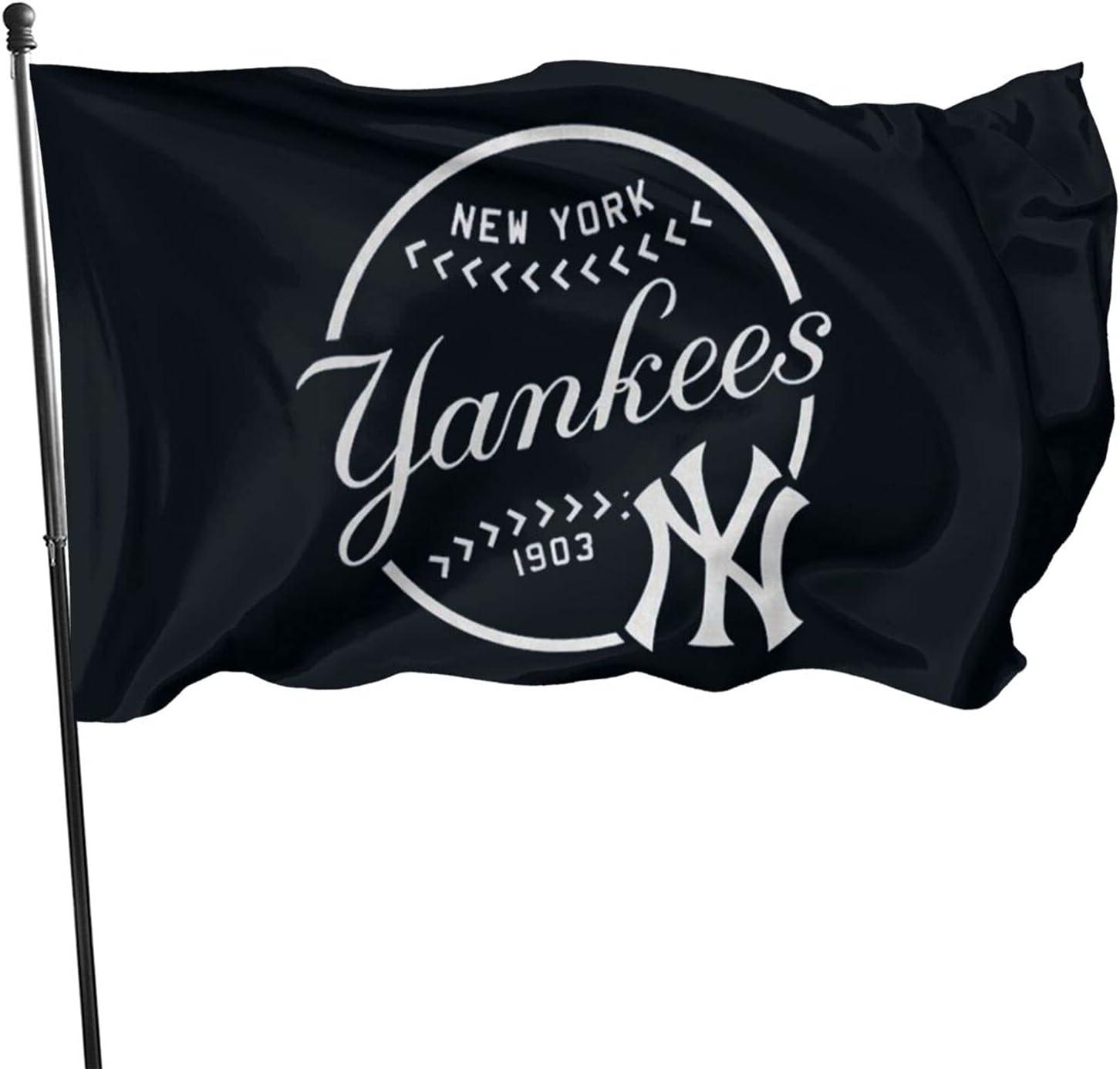 Voglawear New York Yankees Outdoor Flags 3x5 Foot Garden Decoration Durable Big Banner Flag