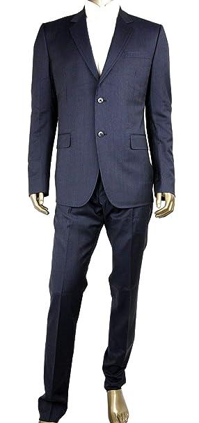 Amazon.com: Gucci 353238 - Traje de 2 botones para hombre ...