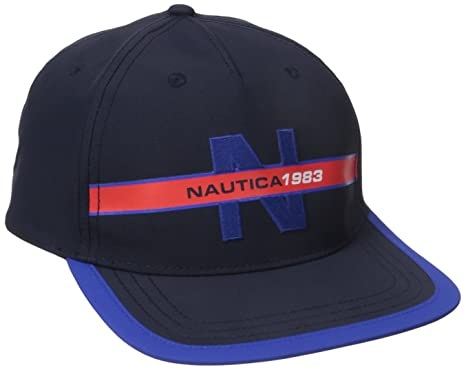 Nautica Men s Classic Heritage Logo Baseball Cap Hat a4f2b8aa66cc