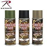 Rothco Spray Paint, 16 oz (Net 12 oz), Olive Drab