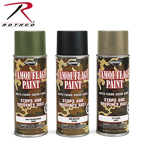 Rothco Spray Paint, 16 oz (Net 12 oz), Olive Drab
