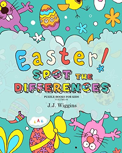 Spot the Differences: Easter (Puzzle Books for Kids) cover