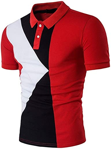HaiDean Camisa De Manga Corta Camisas De Camisa Jersey ...