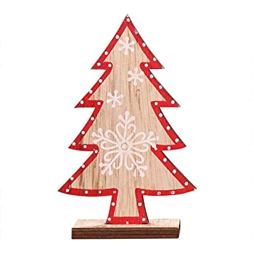 Primitive Christmas Tree.Amazon Com Wulilinl Christmas Decoration Home Wood