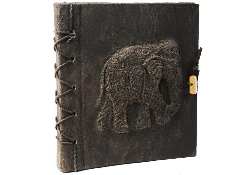 Small Ash Life Arts Handmade Elephant Bark Photo Album