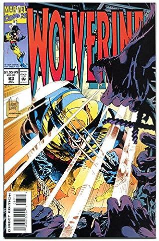 WOLVERINE #83, NM, X-men, Claws,1988, Adam Kubert, more Marvel in store (Wolverine X Men Claw Silver)