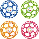 Oball–Rattle 10cm Couleurs assorties