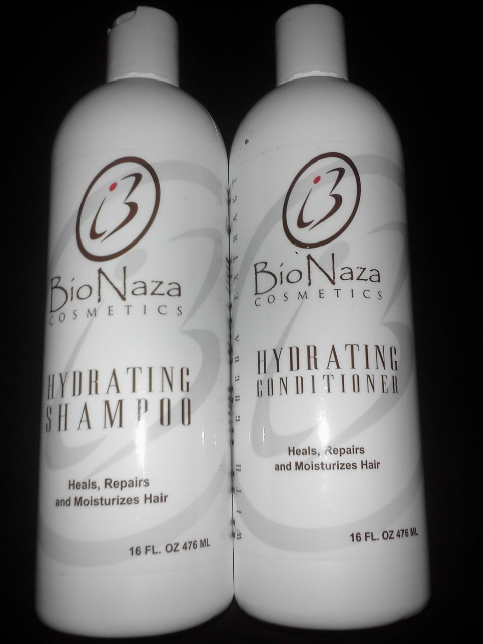 BioNaza ChocoHair Hydrating Shampoo + Conditioner 16 Oz by BioNaza