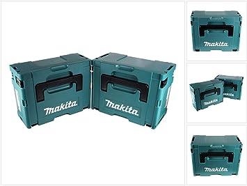 Makita MAKPAC Set Gr, + Gr, 3 caja de transporte para 2 y la caja de herramientas: Amazon.es: Bricolaje y herramientas