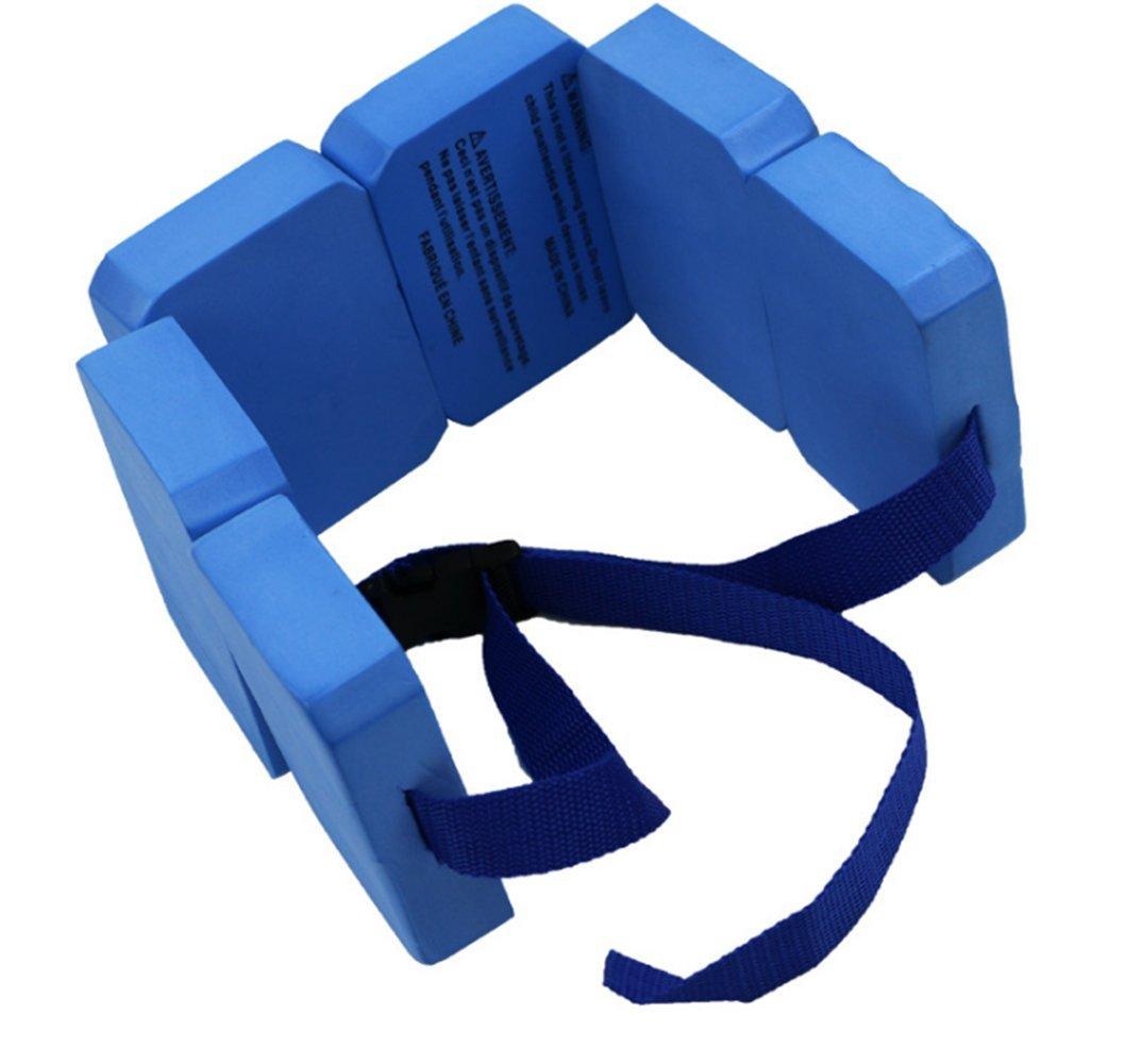 Azul Nadar cintur/ón Placa de flotabilidad Masculina y Femenina para la formaci/ón de ni/ños de Espalda Flotante Azul UniqStore Cintur/ón de flotaci/ón