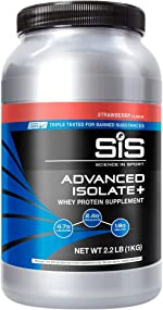 SCIENCE IN SPORT Advanced Isolate Protein, 31g Whey Protein Isolate with