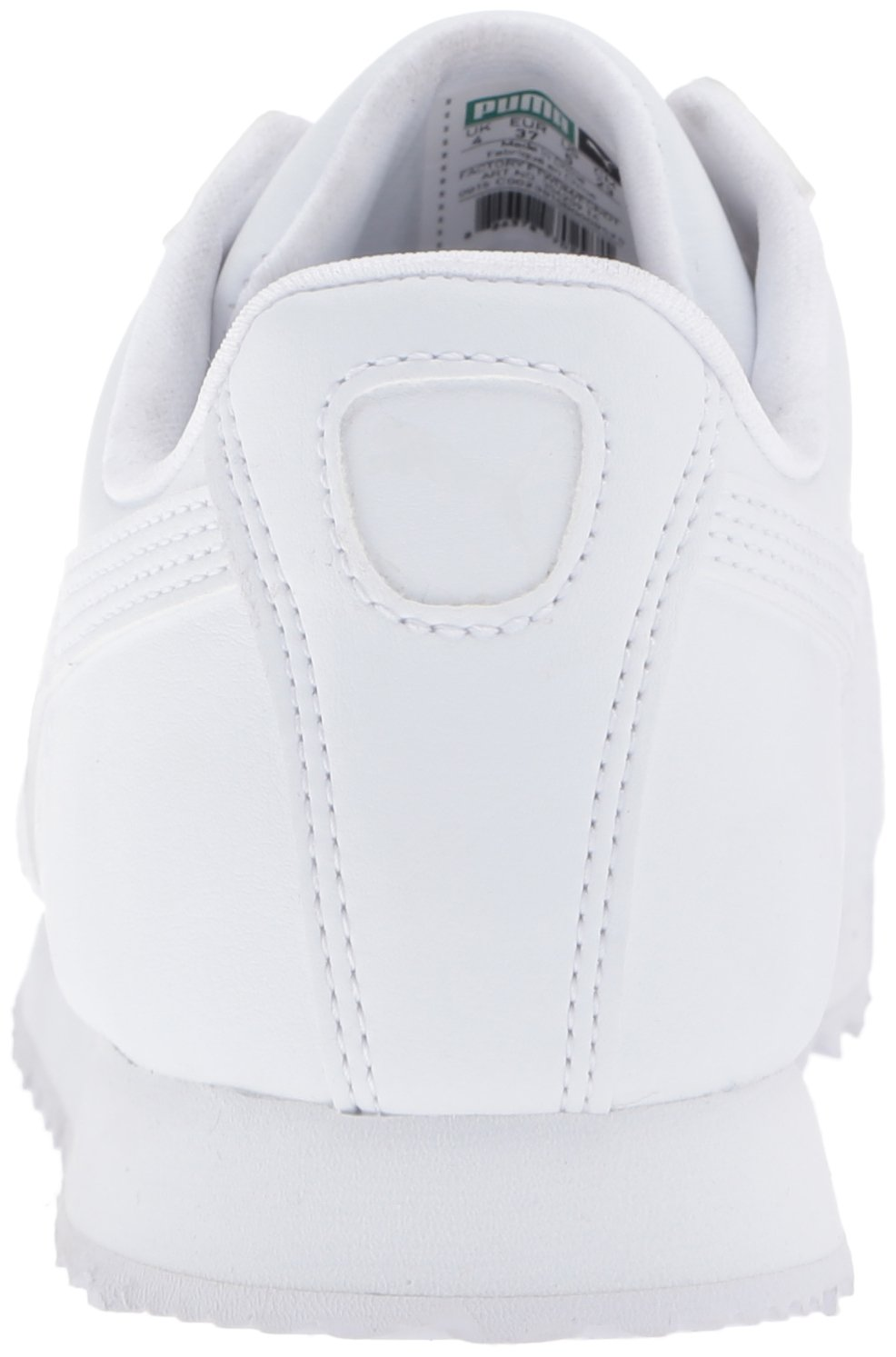 PUMA Roma Basic JR Sneaker , White/Light Gray, 3 M US Little Kid by PUMA (Image #2)