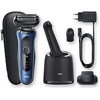 Braun Series 6 60-B7200cc Afeitadora Eléctrica Hombre de Lámina para Barba, con Centro de Limpieza SmartCare, Recortadora de…