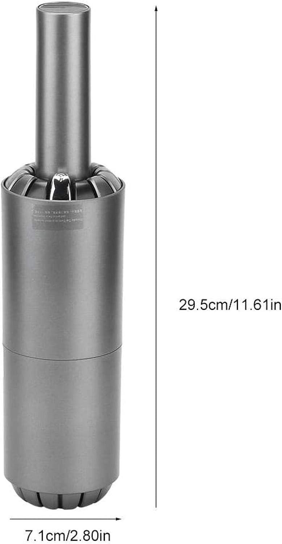 GSWF_OOEFC AUNMAS Aspirapolvere Portatile Mini USB Portatile di Ricarica Senza Fili per Auto Ricaricabile Senza Fili per la casa (1#)-1# 1 #