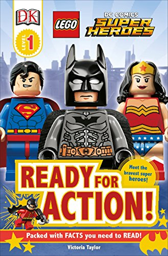 DK Readers L1: LEGO DC Super Heroes: Ready for Action! (DK Readers Level 1) -