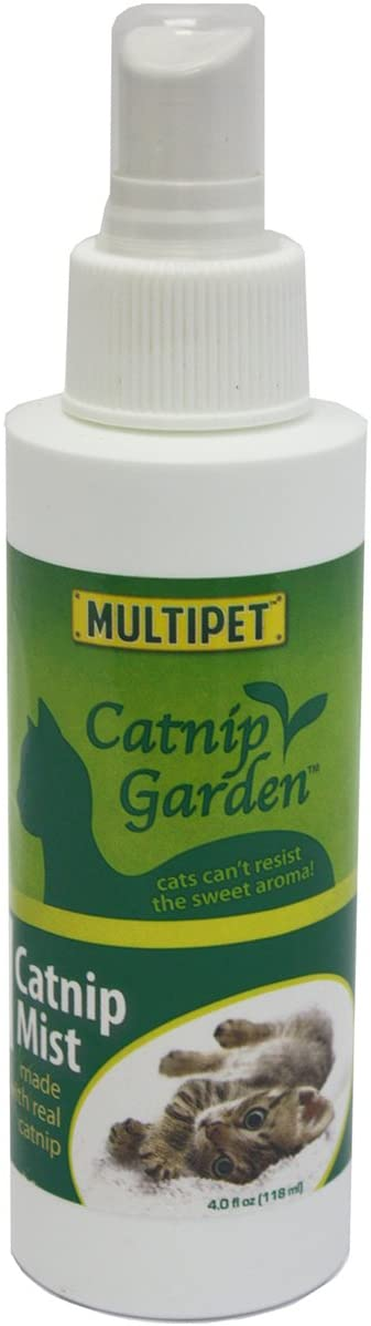 Multipet Catnip Garden Mist Spray Toy, 4 oz